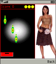 Q-Drinkup mobile game Screenshot