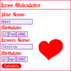 Q-LoveCalculator mobile application Screenshot thumbnail